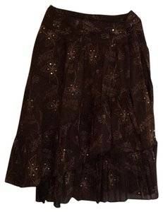 Rampage Skirt Dark Brown