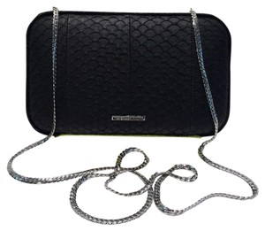 Rebecca Minkoff Black/Yellow Clutch