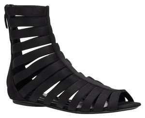 Gucci Isadora Elastic Black Sandals