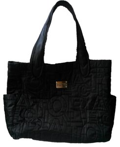Kenneth Cole Monogram Tote Reaction Black Travel Bag