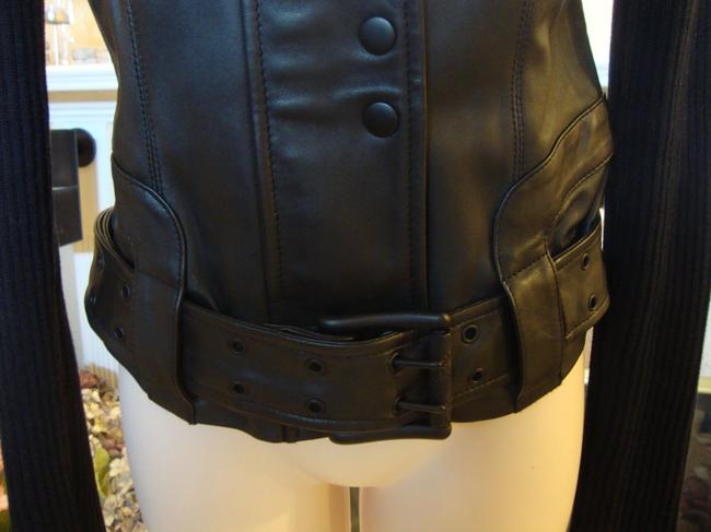 Rock & Republic & Motorcycle Leather Motorcycle Jacket