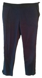 Eileen Fisher Organic Skinny Pants black and blue