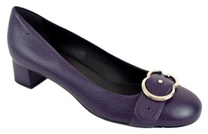 Gucci Interlocking Highheels Deep Purple Pumps