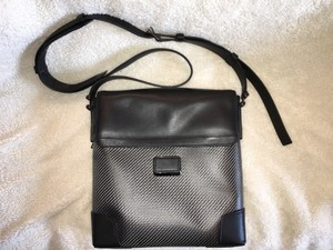 Tumi Cfx Suzuka Crossbody Black/Gray Messenger Bag