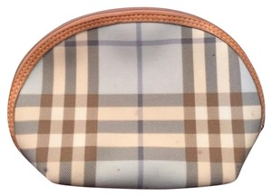 Burberry Burberry Blue Candy Check Cosmetic Bag