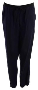Aryn K Knit Trouser Pants Navy