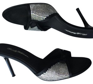 Beverly Feldman Black Sandals
