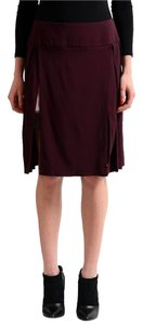 Just Cavalli Skirt Burgundy