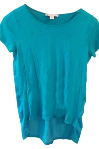 Michael Kors Hi Lo T Shirt blue