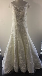 Casablanca Beaded Lace Wedding Dress