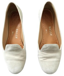 Bally Suede Suede/Sand Color Flats