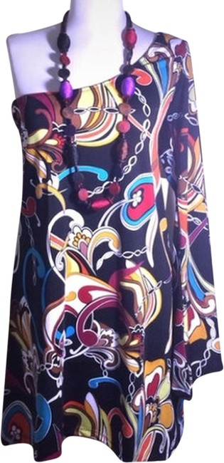 JetSet short dress Multi print on Tradesy