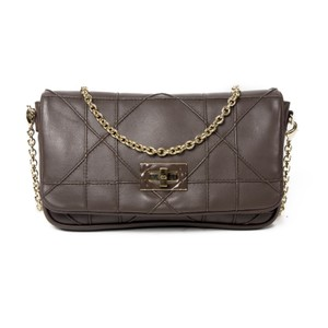 Dior Leather Lady Cannage Cross Body Bag