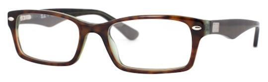 Ray-Ban NEW Ray-Ban RB5206 2445 Green Havana Optical Eyeglasses