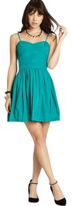 BCBGeneration short dress amazon Bcbg Party Fit And Flare Green on Tradesy