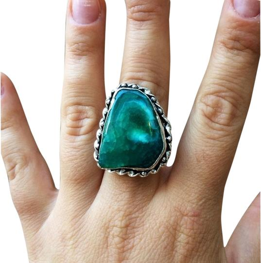 Preload https://img-static.tradesy.com/item/1558652/green-snakeskin-quartz-in-sterling-silver-setting-ring-0-0-540-540.jpg