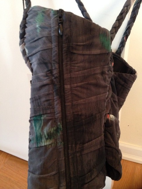 Jil sander bustier top for 32C/D Top Gray And Green