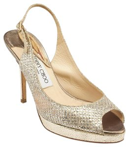 Jimmy Choo Silver Gold Silver,Gold Formal