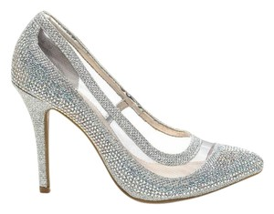 GoJane Pump Formal Metallic Silver Pumps