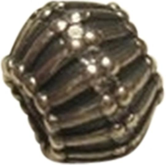 """PANDORA Pandora Charm """"SHOW STOPPER"""" CLEAR CZ. Hard to find, Retired Style!"""