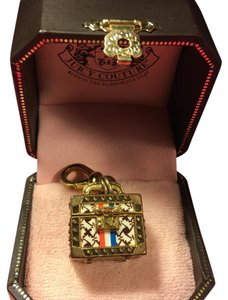 Juicy Couture BRAND NEW! JUICY COUTURE ADORABLE and CRAZY RARE TRAVEL SUITCASE LOCKET CHARM!!