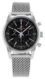 Breitling Breitling Transocean AB045112/BC67-154A Stainless Steel Watch (12973)