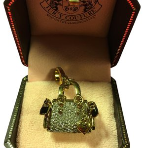 Juicy Couture BRAND NEW! JUICY COUTURE GORGEOUS and VERY HTF EXTREMELY RARE ALL PAV DIAMOND DAYDREAMER PURSE CHARM!!