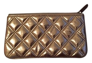 Marc Jacobs Metallic Metallic Hardware Clutch