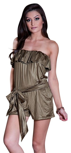 Item - Bronze Steppin Out Romper Small Cover-up/Sarong Size 4 (S)