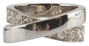 Cartier Cartier Nouvelle Vague Paris 18K Diamond 1.1ct Ring, Size 5.5 (85213)