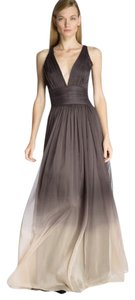 Halston Evening Gown Chiffon Dress