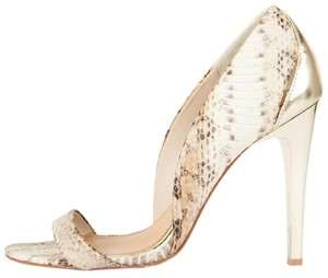 Badgley Mischka Snakeskin Pumps
