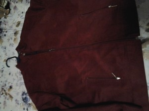 Draper's and Damon's Limited Edition Maroon Suede Jacket