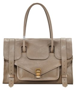 Proenza Schouler Keep All Small New Tote in Smoke / Taupe