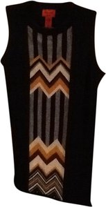 Missoni for Target short dress Black with gray yellow and cream on Tradesy