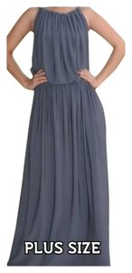 Charcoal Gray Maxi Dress by Other Plus Size Handmade Curvy Special Event