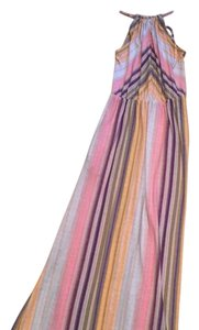 Multi stripe Maxi Dress by Bar III