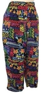 Chico's Crop Capris Multi color