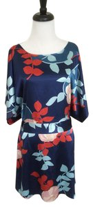 BCBGMAXAZRIA short dress Blue Bcbg Max Azria Floral Print on Tradesy