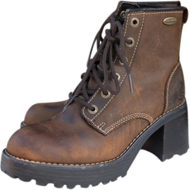 Item - Brown Plateau-mesa Boots/Booties Size US 7.5 Regular (M, B)