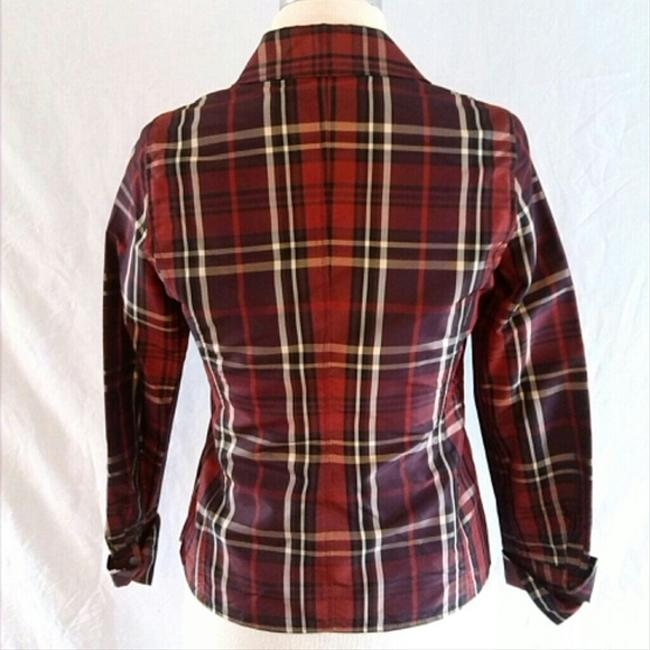 Talbots Tartan Top Plaid