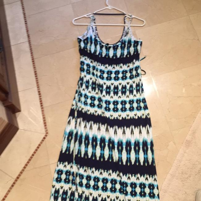 Navy/white Maxi Dress by FELICITY & COCO
