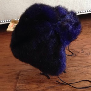 Betsey Johnson Faux Fur Trapper Hat