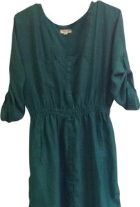 Urban Outfitters short dress green Outiftters on Tradesy