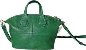 Givenchy Nightingale Micro Crossbady Made In Italy Satchel in Green 27a6f850ae762