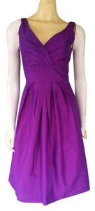 Suzi Chin Silk Taffeta Dress