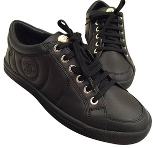 Chanel Trainer Black Athletic