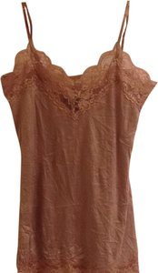 Arden B Lace Cami Top taupe