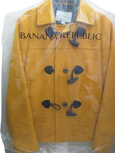 Banana Republic Mustard Yellow Blazer