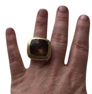 David Yurman stunning DAVID YURMAN EXTRA LARGE CITRINE RING